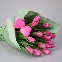 """Букет """"Розовая любовь"""""""