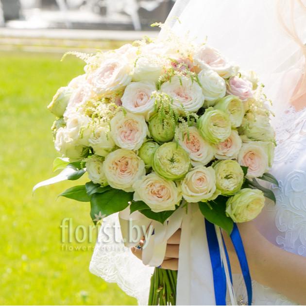 """Букет невесты """"Ваниль"""""""